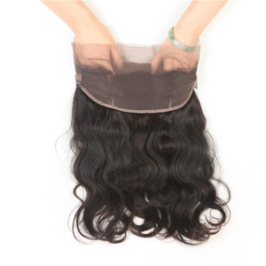 360 frontal light brown lace closure virgin cuticle aligned human hair from very young girls