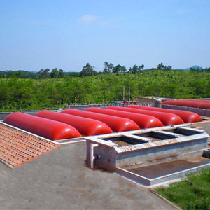 Hot sale durable inflatable PVC biogas blower biogas digester