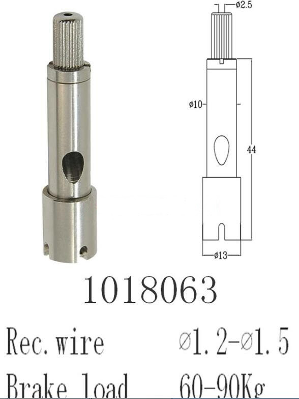 Durable in use Wire Rope Fittings for wall hanging or  Hanging Cable Systems  Fittings