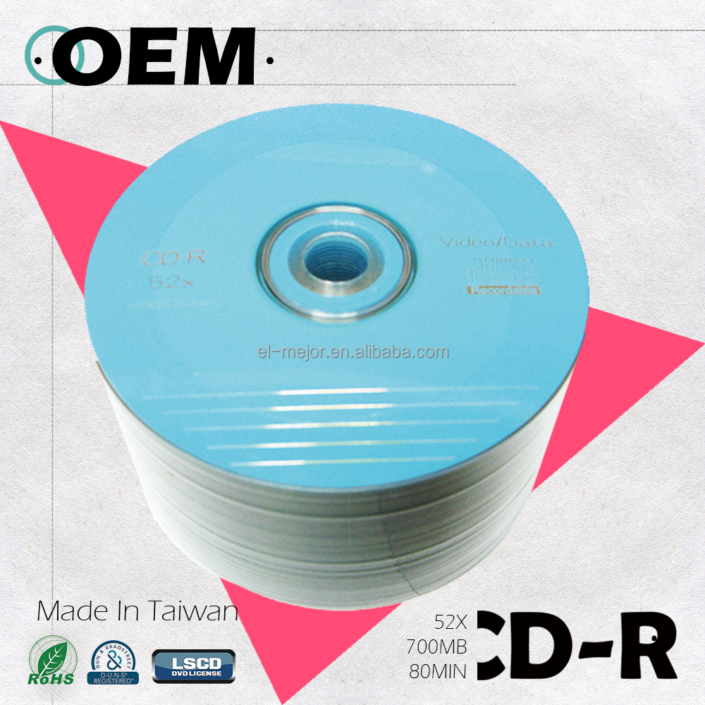 Best selling Cdr 52X Buying In Bulk Wholesale,Cheap Cdr Disc, Taiwan