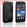 Wholesale Gummy Gel Flexible TPU S Line Case for Galaxy S2