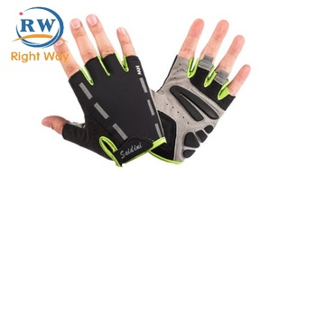 New Soft Half Finger Gloves Outdoor Sports Bicycle Cycling Gym Gloves