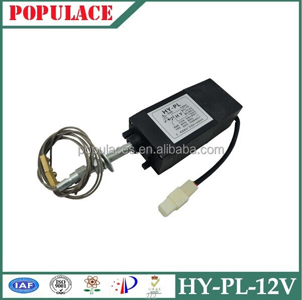 Generator Parts and Accessories Engine Stop Solenoid HY-PL 12V