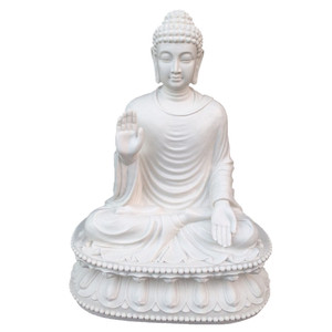 large resin buddha statue for outdoor decoration