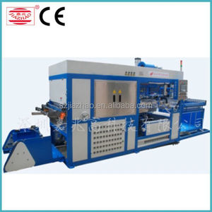 Vaccum forming machine for kinder joy eggs making