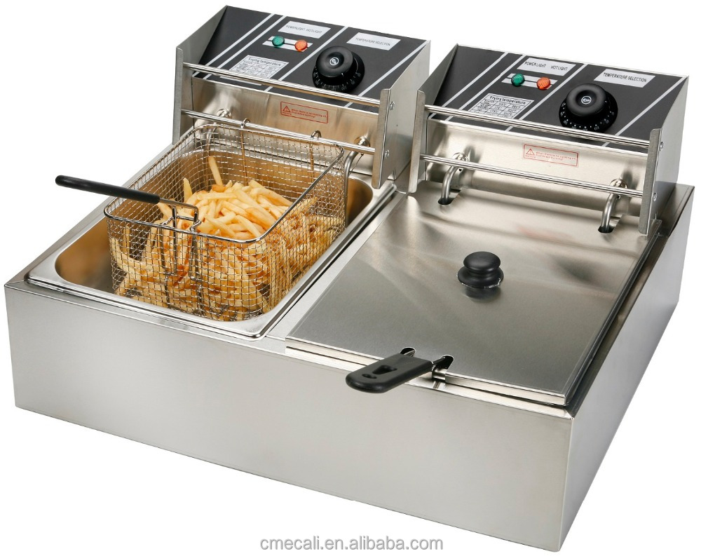 Factory Price Counter Top <strong>Commercial</strong> Gas <strong>Deep</strong> <strong>Fryer</strong> For Sale