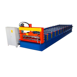 2018 Hebei Xinnuo 760 aluminium sheet new design used metal roof panel cold roll forming machine for hot sale