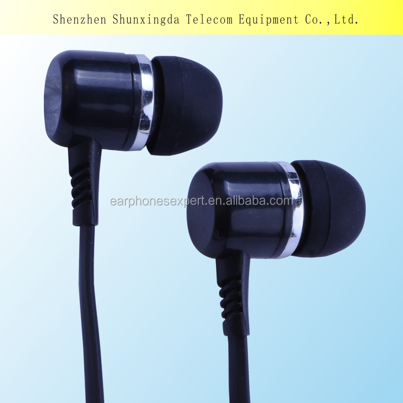 Free Sample Plastic Earphone for MP3/MP4 player