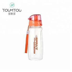 Portable Plastic With Tea Infuser Space Water Bottle