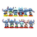 12pcs Mini Stitch figures figurines figura toy set 2016 New Anime stitch Christmas gift and dolls