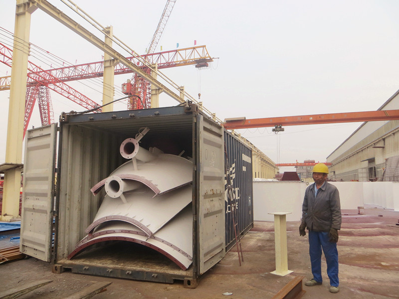 Bolted bulk steel 2000t cement silo