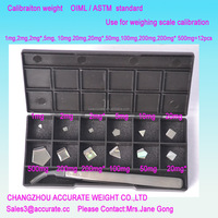 200mg F1 pro calibration weight changzhou OIML Digital Pocket Scale Balance Jewelry Weighing Scale weight