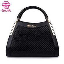 2016 new high quality  leather women shoulder messenger bags fashion tote Retro diamond lattice day clutches designer handbags