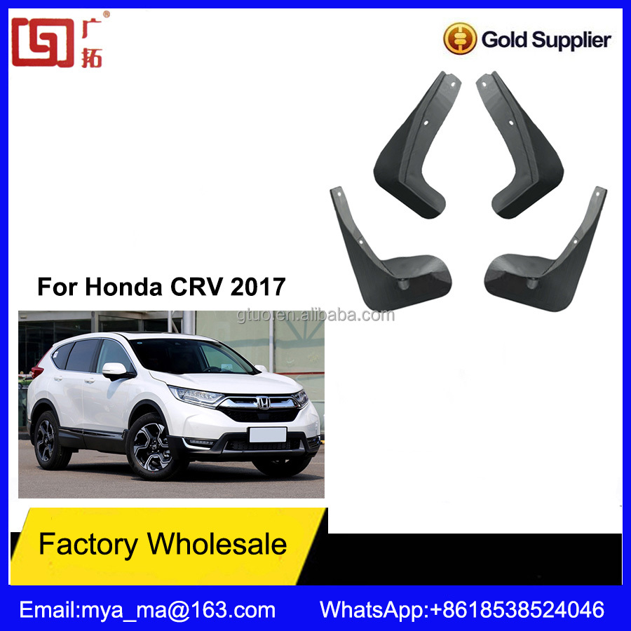 Best Price High Quality Car Fender Mud Flaps For Honda CRV 2017 Accessories