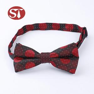 China factory price custom design polyester self bowtie