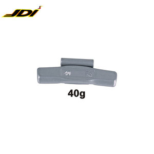 40G Auto accessories Fe Clip On Wheel Weight for aluminum rim