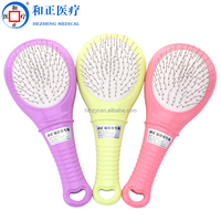 2016 newest hot sale plastic brush hair comb massage brushes