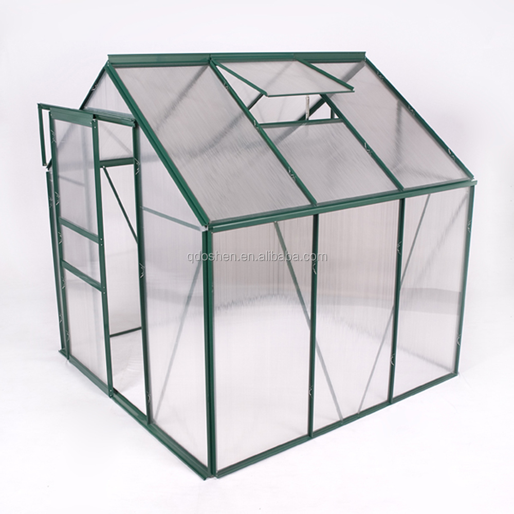 Agricultural Aluminum Garden Greenhouse