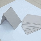 Recycled uncoated kraft grey back duplex card paper board for package boxes