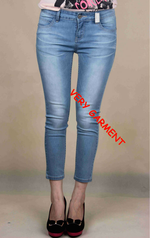 Latest Capri Skinny Jeans Tops Girls - Buy Latest Jeans Tops Girls ...