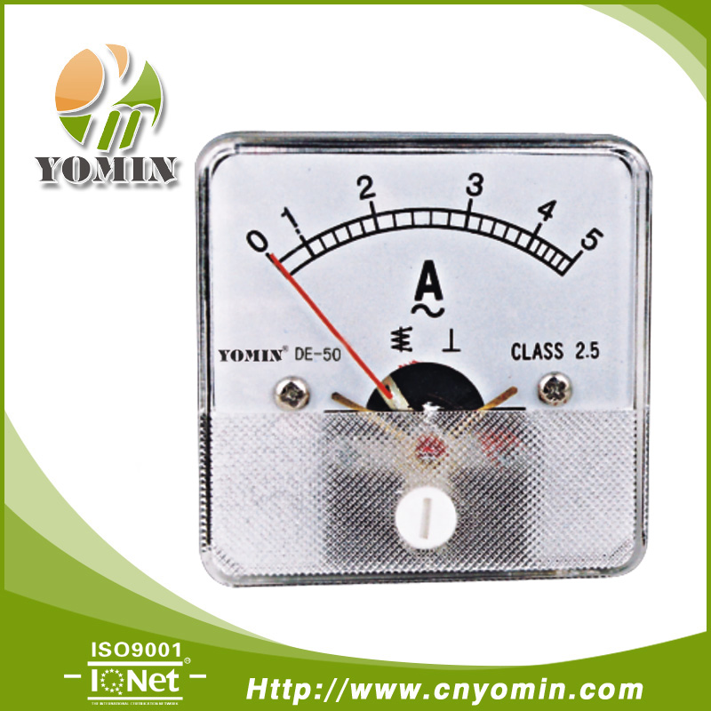 Manufacturer Dt-a50 Ct Operated Ac Ammeter,Analog Panel Meter 50 ...