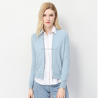 Maxi Vest Longline Stofdoek Jas 100% Polyester Sheer Chiffon