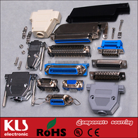 Good quality SCSI connector 14 20 26 36 50 68 pin UL CE ROHS KLS Brand