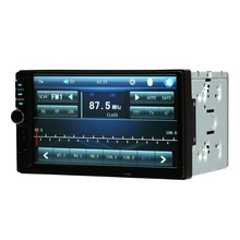 7 inch 2 Din Car BT Stereo Radio MP5 Player With Rear View Camera Universal/Bluetooth/Touch Screen/USB/TF Aux Input/FM