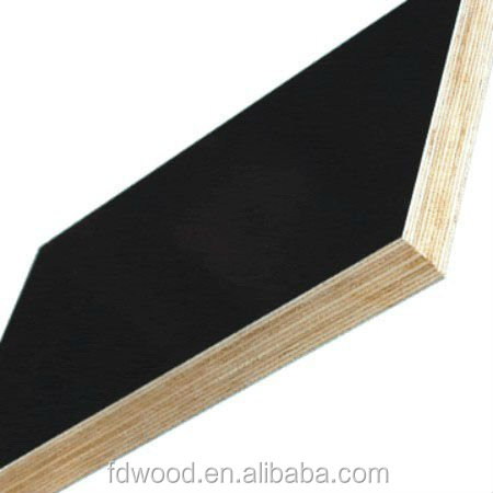 high quality waterproof black / brown paper overlay plywood price