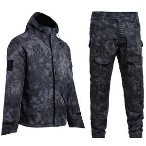 Wholesale Army black combat uniforms tactical uniform set,tactical jacket