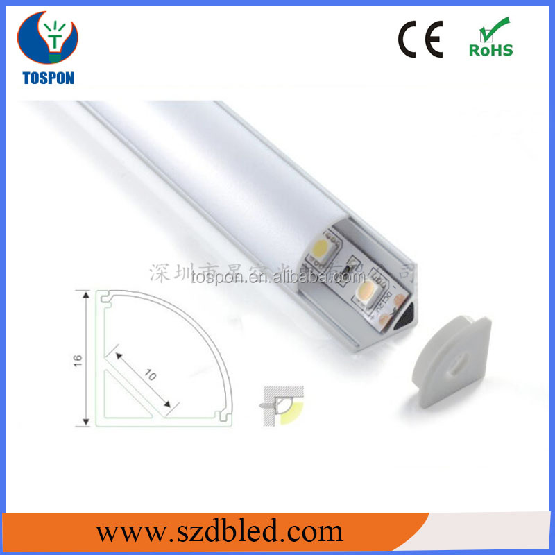 New Half-Round Led Aluminum Profile for Suspension for LED strip