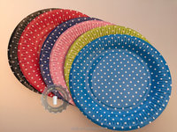 9 inch disposable party paper plate
