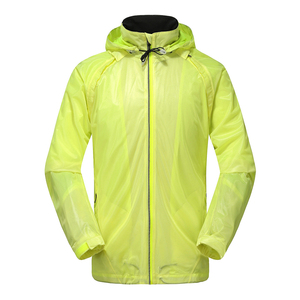 customize mens reflective cycling windbreaker jacket