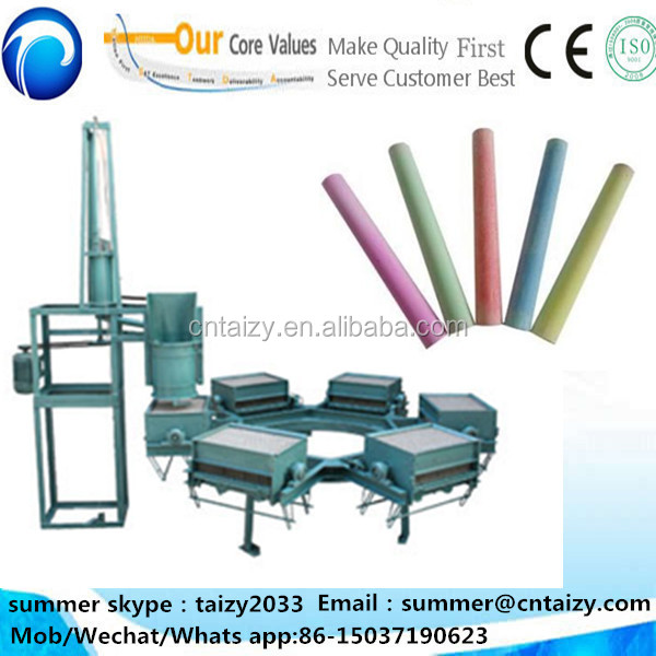 Colorful Chalk Making Machine, Chalk Making Machine in India school dustless chalk production line