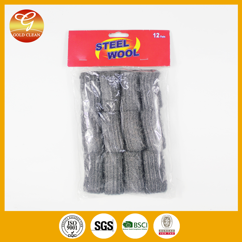 Stainless Steel Wool Scourer For Household Kitchen Cleaning Density Wire Roll Product On
