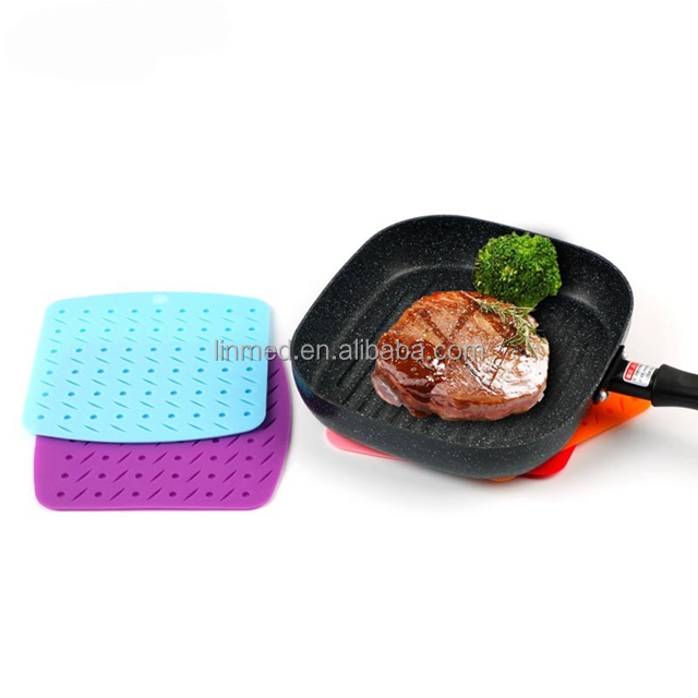 High Quality Silicon Table Placemat Non Slip Heat Resistant Waterproof Mat