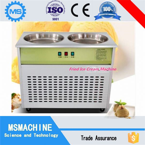 New Condition thailand rolled fried ice cream machine