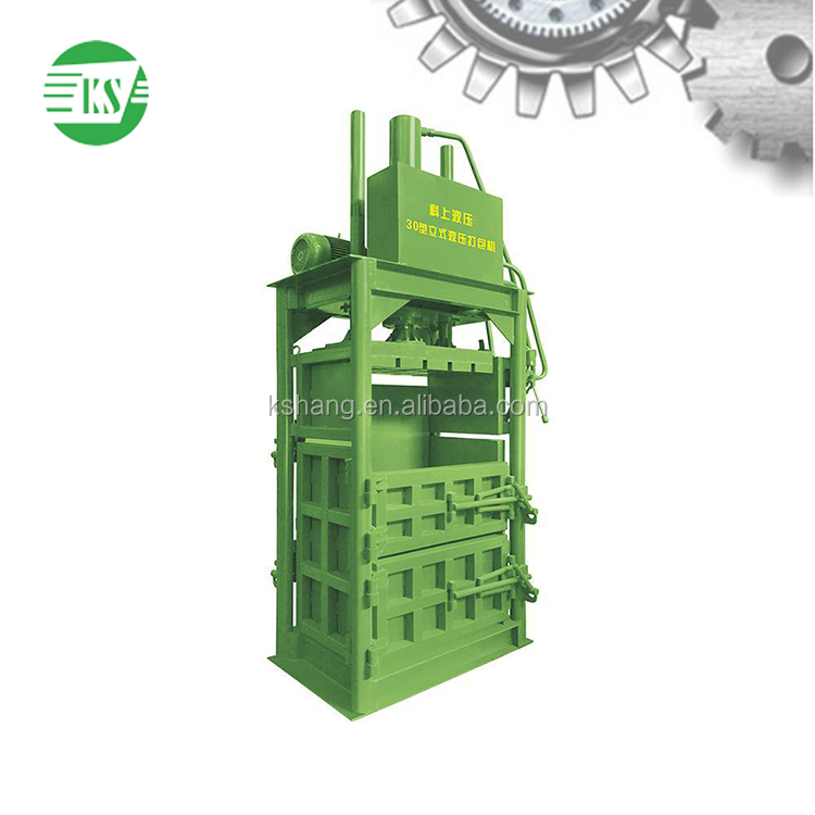 YJ-80 Hydraulic Used vertical Clothing Baling Machinery in Foshan