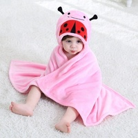 Wholesale New Fashion Soft Warm Flannel Baby Wearable Blanket