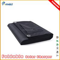 80 Watt Foldable solar panel solar battery charger for 12v car battery/laptops/mobiles