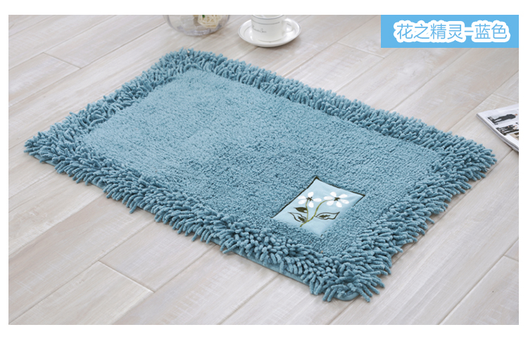 An Style Bath Mat Bathroom Carpet Microfiber Absorbent Anti Slip Mats For And Toilet Rugs