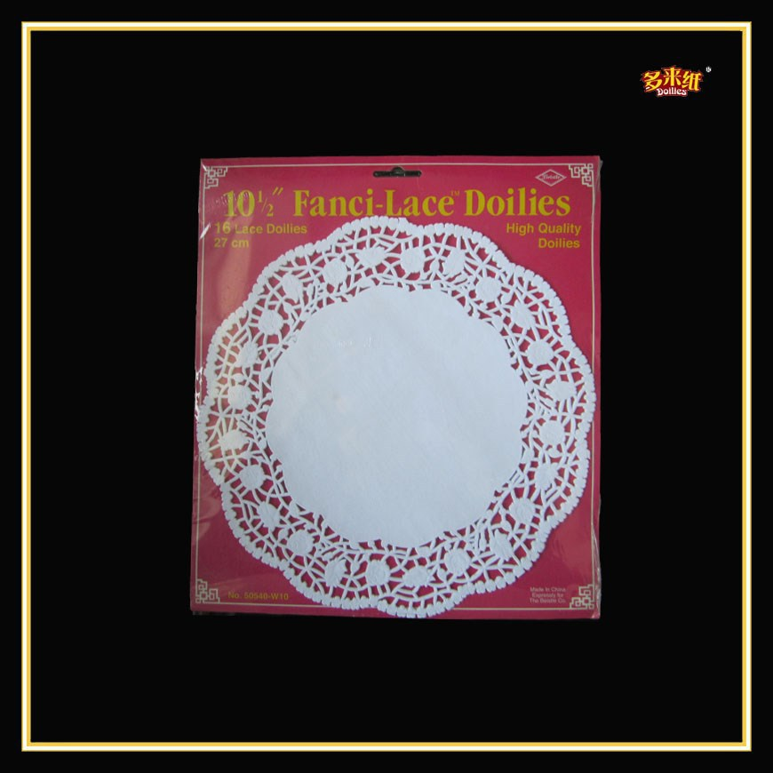 2015 Pop Elegant 6 inch White Paper Doily in Home and Kitchen