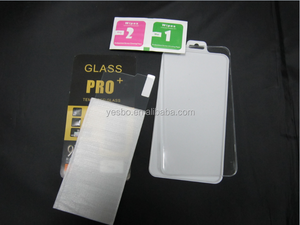 2015 Factory OEM packing 9H tempered glass screen protector for LG G2