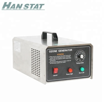 Hot Sale 10g / H Portable Ozone Generator For Car And Room Air Disinfection