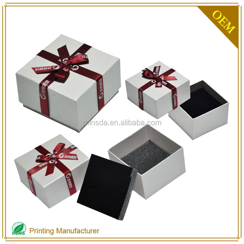 New Design Paper Packaging Jewellery Package Box Without Glue In China