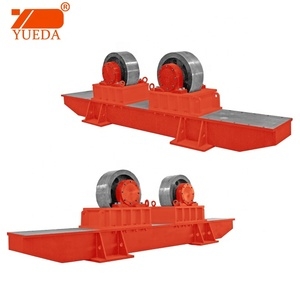 Yueda brand electric turning rotator/ welding rotator