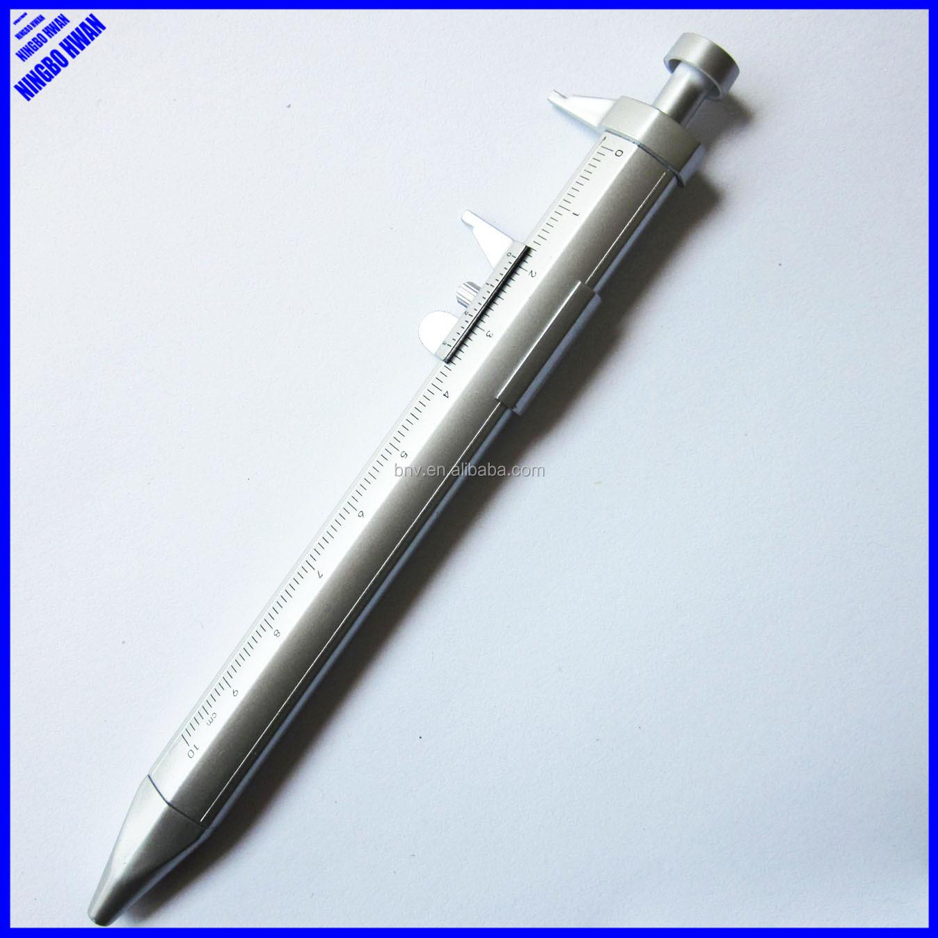 silber Kugelschreiber mit Schieblehre Farbe