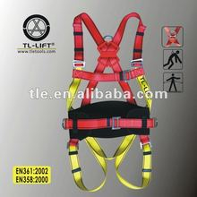 Men's 걸 이식 Working Harness 와 Safety Belt CE 증명서를 풀 몸 Safety Harness