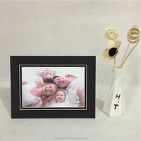 Black cardboard photo frame 4x6 5x7 8x10.Paper Photo Frames to Fit A4 photos