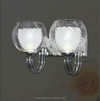 Stripe Stripe Pattern Glass Light Shade/Double Walls Glass Lamp cover